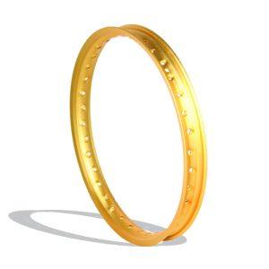 WM gold sandblast